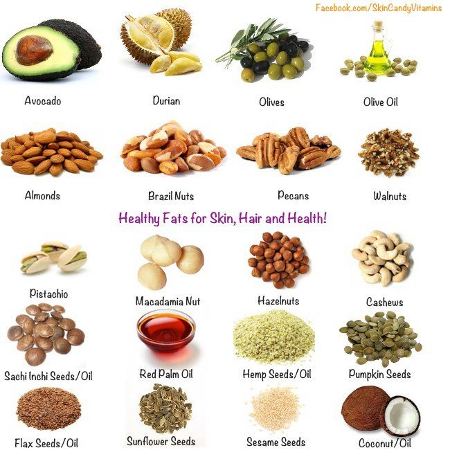 healthiest fats