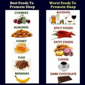 The best and worst foods to promote sleep