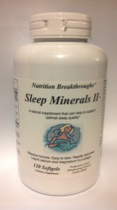 Sleep Minerals II.
