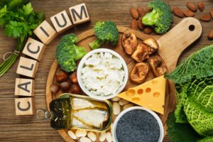 Foods rich in calcium