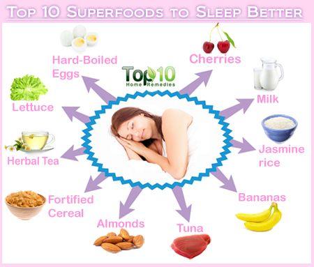 sleep foods that help you