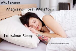 magnesium and melatonin as a natural sleep aid