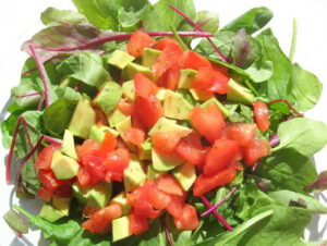 salad with vitamin e