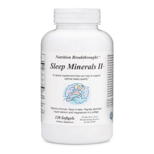 Sleep Minerals II